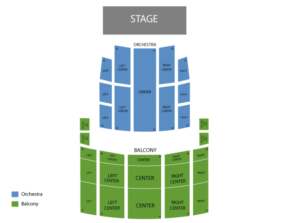 Hello Dolly Venue Map
