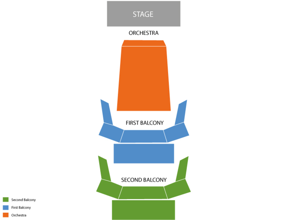 Bass Concert Hall seating map and tickets