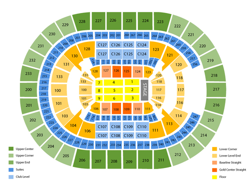 Quicken Loans Arena Seating Chart