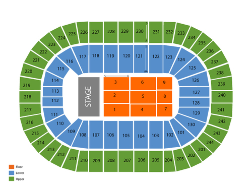 Times Union Center Seating Chart
