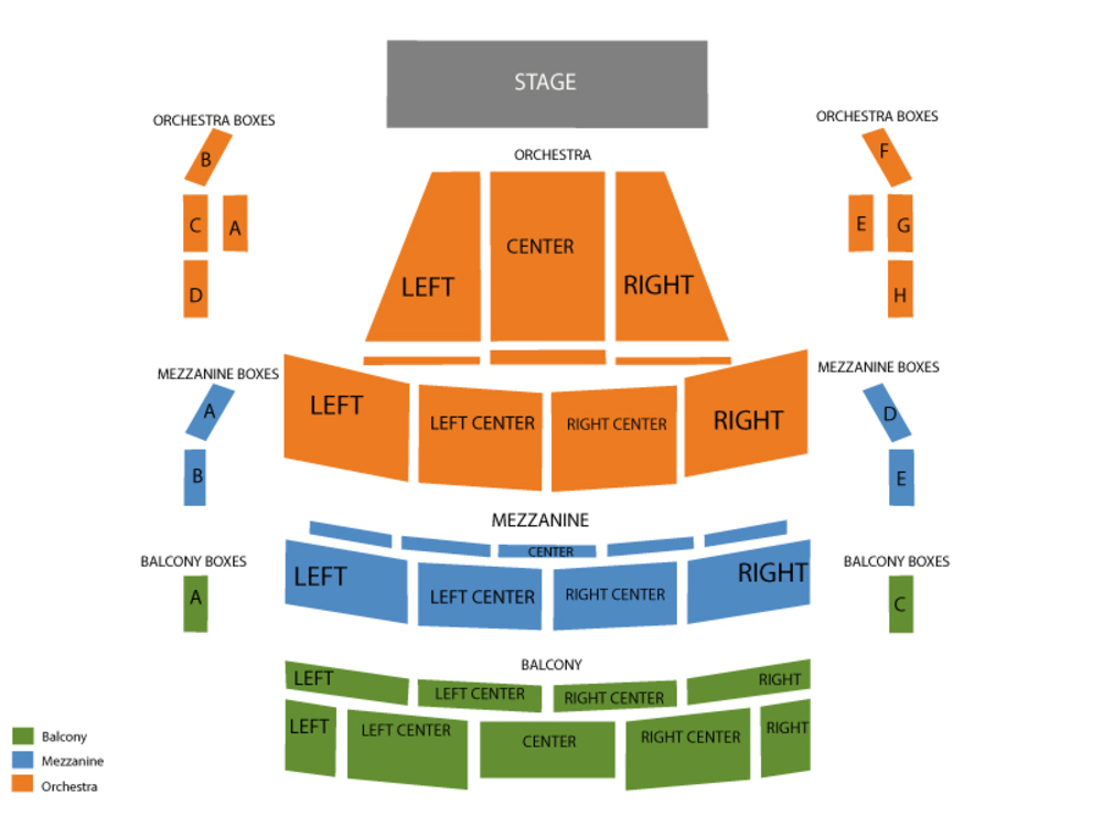 Ana Popovic Venue Map