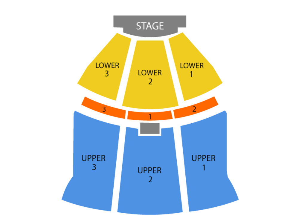 Tracy Morgan (Rescheduled from 2/17) Venue Map
