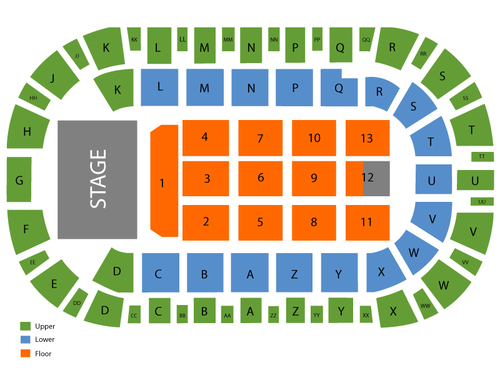 Jeff Dunham (Rescheduled from 4/23/2020, 12/03/2020, and 04/22/2021) Venue Map