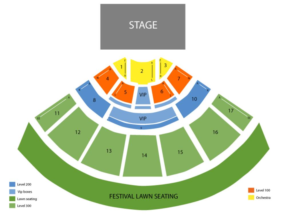 mid florida credit union amphitheater seating chart