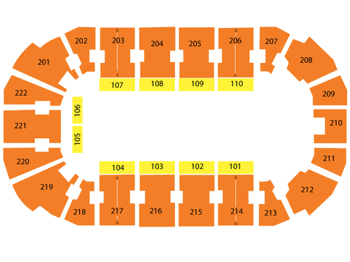 Covelli Centre Seating Chart
