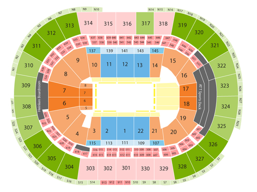 Td Garden Seating Chart Events In Boston Ma