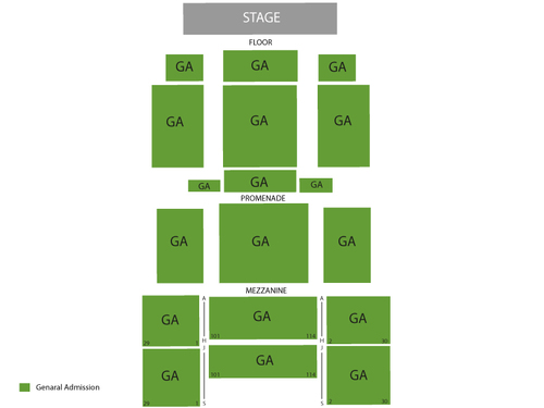 Playstation Theater Seating Chart