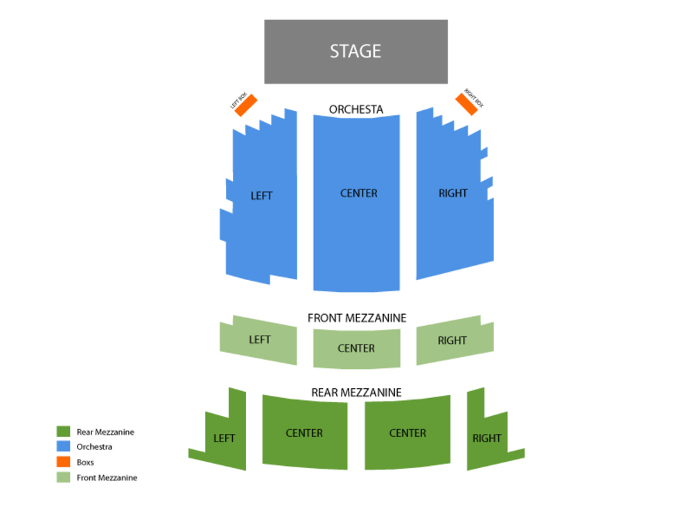 Seating Chart Brooks Atkinson Theatre
