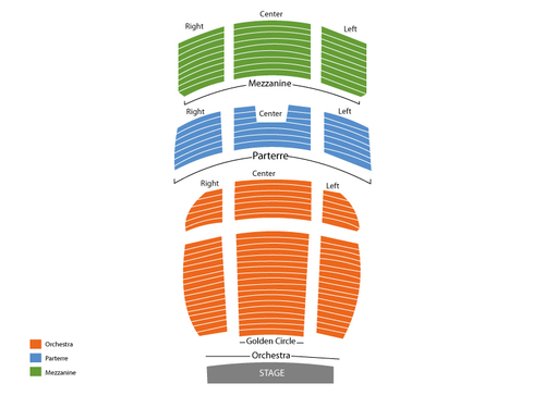 The Venetian Hotel Theatre Seating Chart