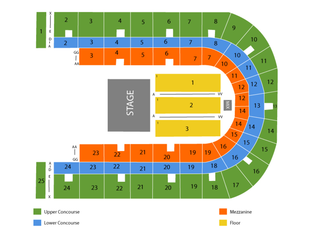 War Memorial At OnCenter seating map and tickets