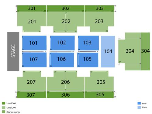Seminole Hard Rock Live-Hollywood Seating Chart