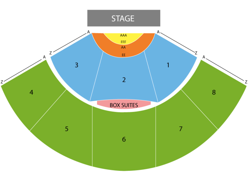 Brett Eldredge with Lauren Jenkins Venue Map