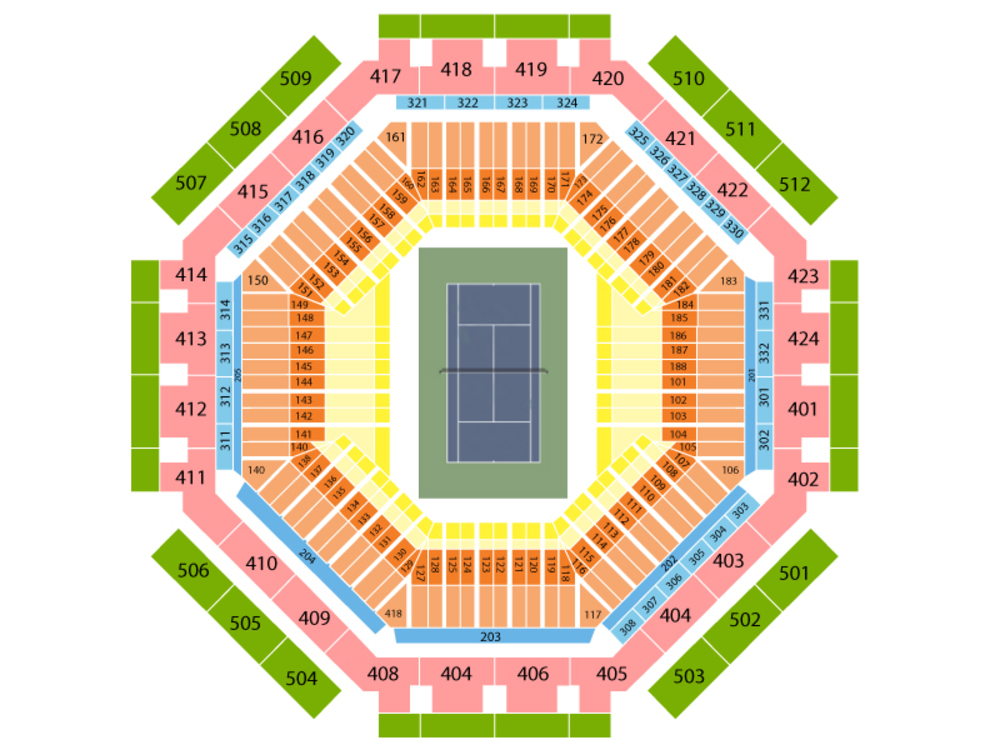 Indian Wells Tennis Garden Seating Map Garden Ftempo