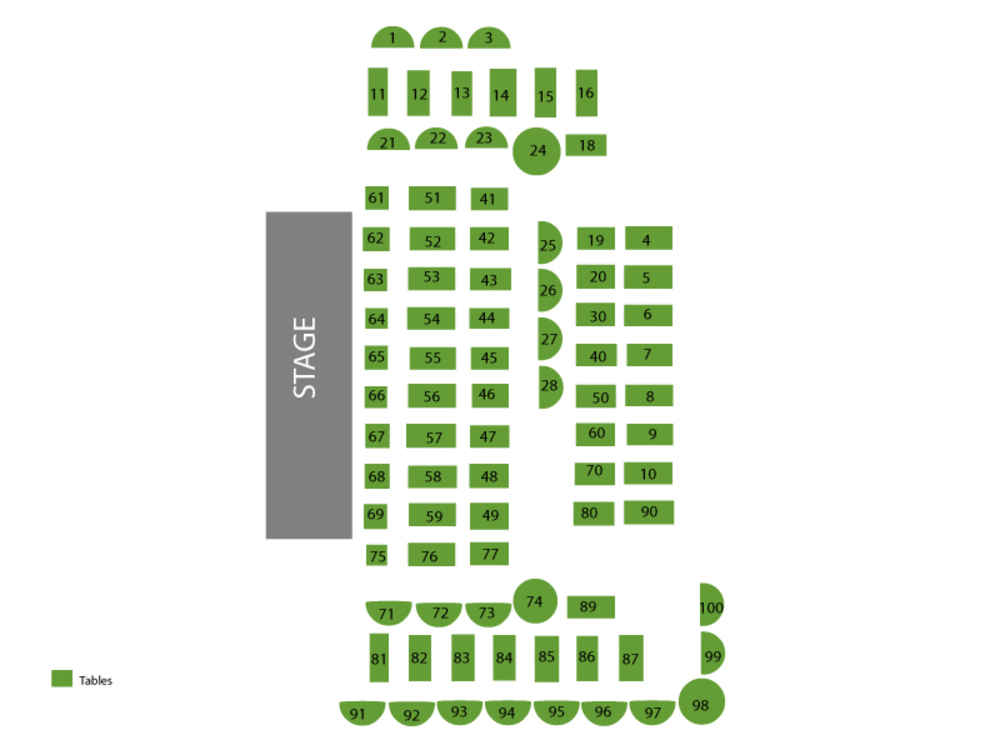 Southside Johnny and The Asbury Jukes Venue Map