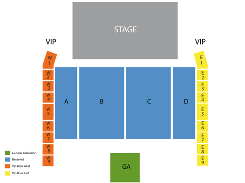 Fun with Tegan And Sara Venue Map