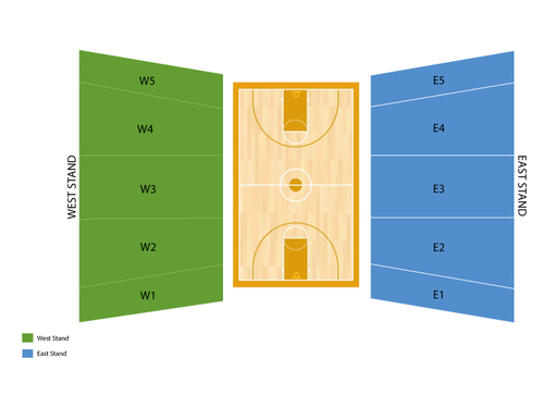 Tom Gola Arena Seating Chart