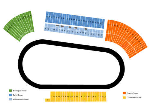 Darlington Raceway Seating Chart