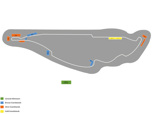 Canadian Grand Prix Venue Map