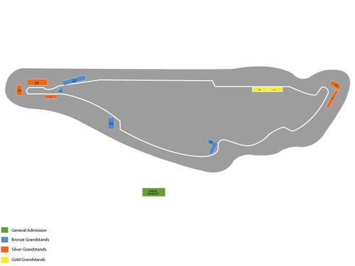 Gilles Villeneuve Circuit Seating Chart