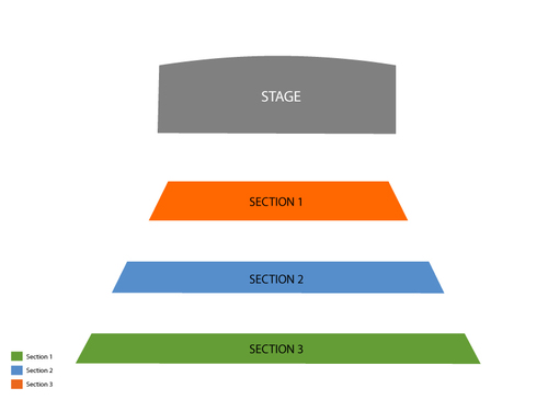 Atrium Theatre - Luxor Hotel & Casino Seating Chart