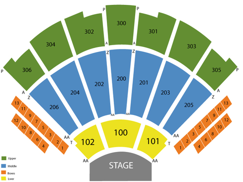 Theater at Madison Square Garden Seating Chart