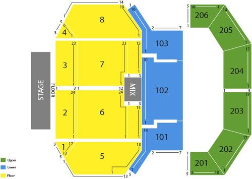 The Cosmopolitan Las Vegas Seating Chart