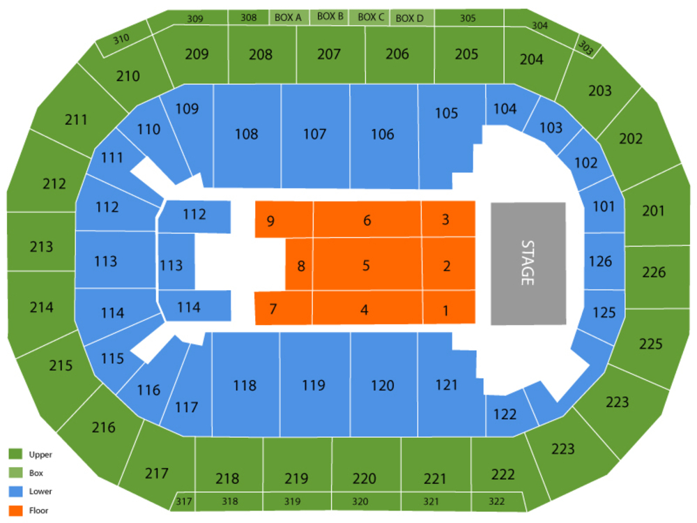 Marco Antonio Solis Venue Map