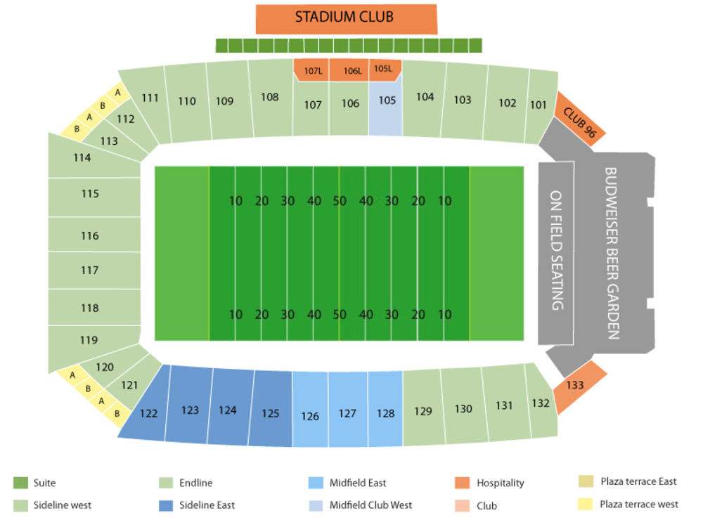 Frisco Bowl: SMU Mustangs vs Louisiana Tech Bulldogs Venue Map