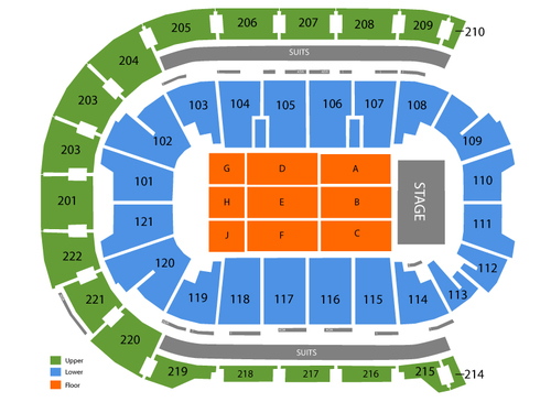 Ford Center Seating Chart