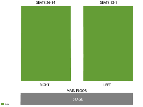Ponte Vedra Concert Hall Seating Chart