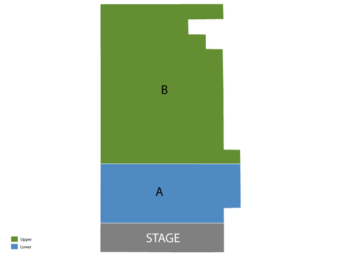 Kirk Theatre at Theatre Row Seating Chart