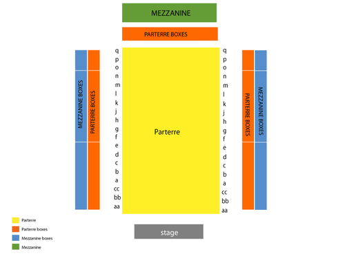 Carnegie Hall - Zankel Hall Seating Chart