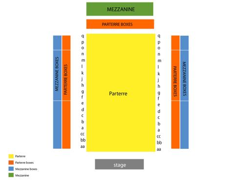 Zankel Hall - Carnegie Hall Seating Chart