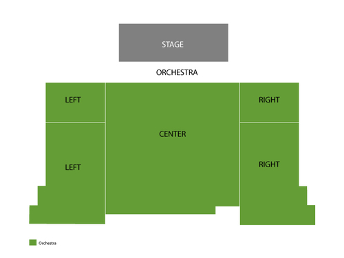 New World Stages - Stage Two Seating Chart