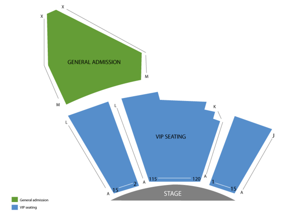 Nathan Burton Venue Map