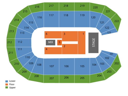 Landers Center Seating Chart