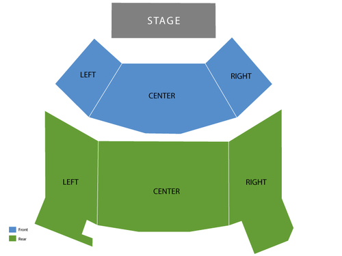 Broadway Playhouse at Water Tower Place Seating Chart