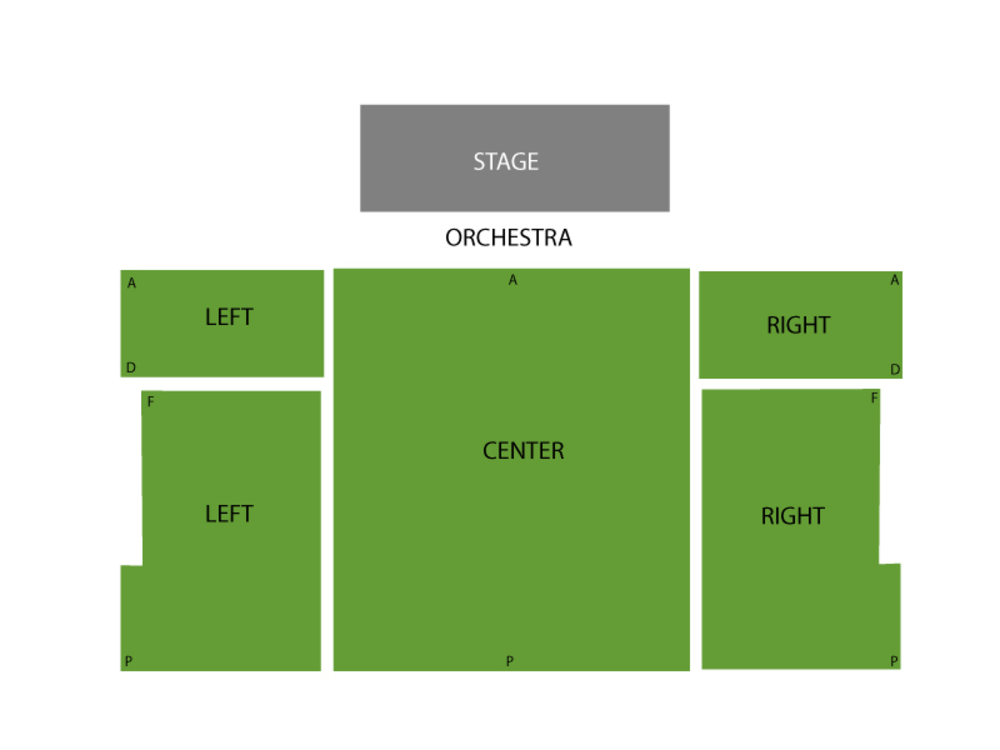 Seating Chart New World Stages - Stage Four