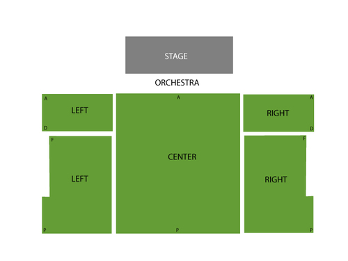New World Stages - Stage Four Seating Chart