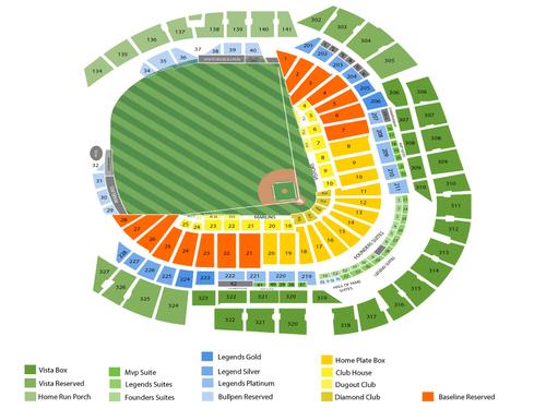 Marlins Ballpark Seating Chart