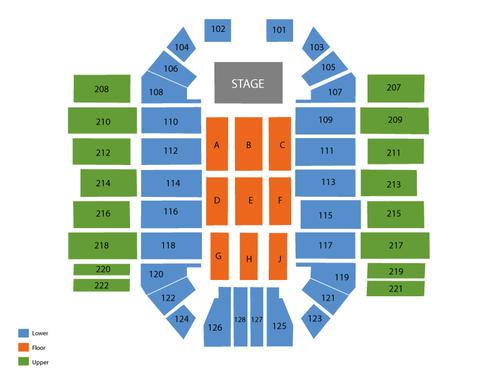 Sullivan Arena Seating Chart