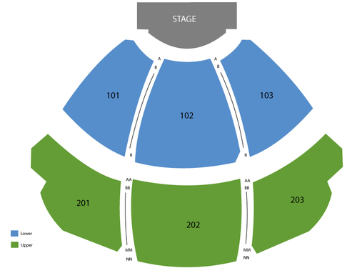 KA Theatre at MGM Grand Hotel Seating Chart
