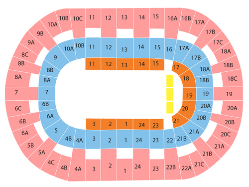 Valley View Casino Center Seating Chart