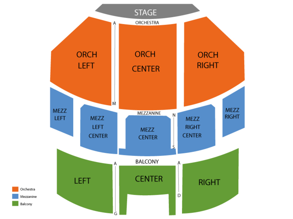 Seating Chart Brooklyn Academy of Music - BAM
