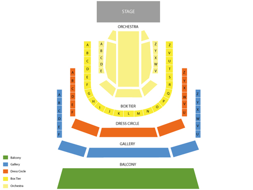 La Cage Aux Folles Venue Map