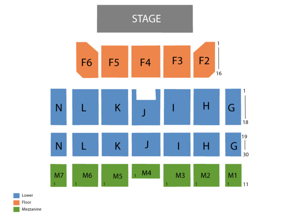 Casino Rama Seating Chart Orillia