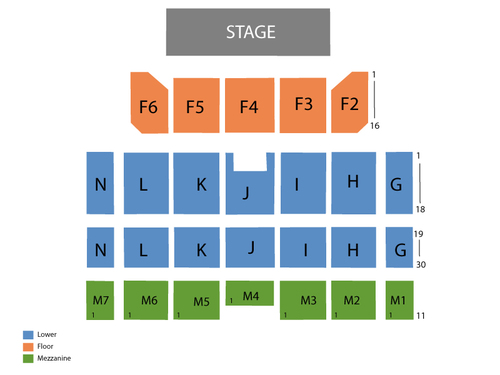 Casino Rama (Rama) Seating Chart