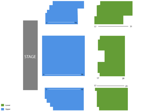 Garrick Centre at the Marlborough Seating Chart