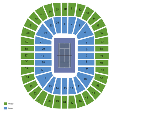 Rod Laver Arena at Melbourne Park Seating Chart