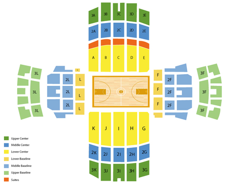 Memorial Gym - Vanderbilt University Seating Chart